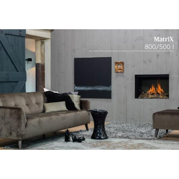 Kominek gazowy Matrix 800/500 I Faber