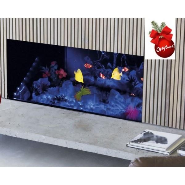 Opti-V  Aquarium - AKWARIUM !!! kominek do zabudowy opti-V Dimplex