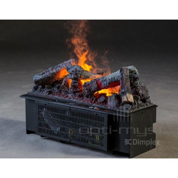 Kominek Kaseta 600 LL  - elektryczny wkład do zabudowy optimyst 3D Dimplex+brzeczęk
