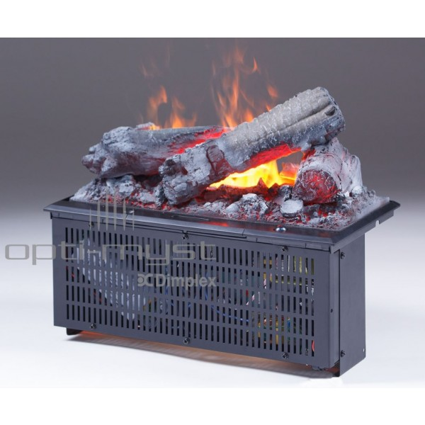 Kominek Kaseta 400 LL  - elektryczny wkład do zabudowy optimyst  3D Dimplex+brzeczęk