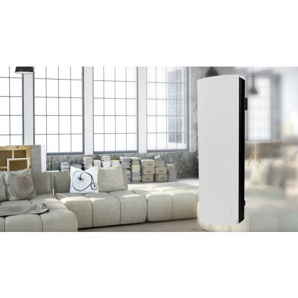 Divali 1000 Vertical biały grzejnik pionowy  Atlantic o mocy 1kW WiFi