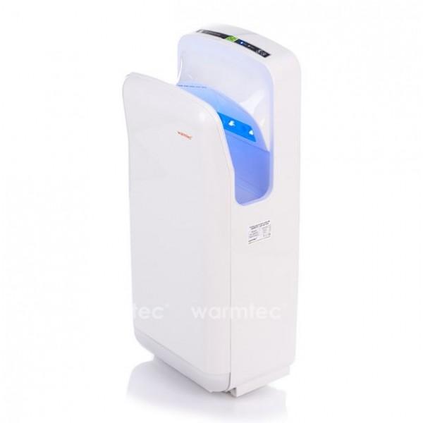 JetFlow 1650 biała Kieszeniowa  elektryczna suszarka do rąk Warmtec