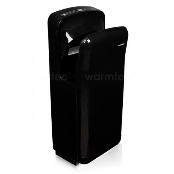 JetFlow 1650 czarna Kieszeniowa  elektryczna suszarka do rąk Warmtec