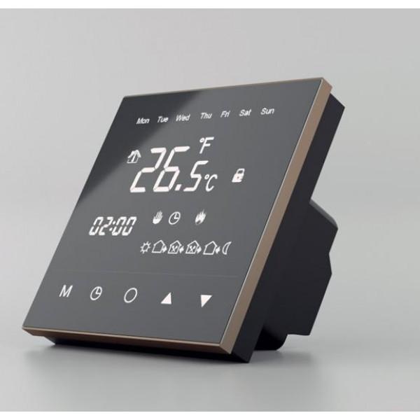 TVT30 CM  regulator temperatury dotykowy z czujnikiem powietrznym i podłogowym Thermoval