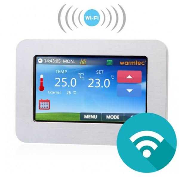 WTSi -elektroniczny programowalny regulator temperatury Warmtec Wi-Fi (beznapięciowy)