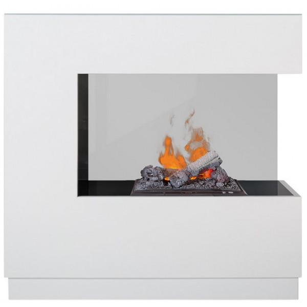 Kominek Zen biały  - elektryczny kominek z obudową 3D Dimplex+brzeczęk+upominek gratis!!!