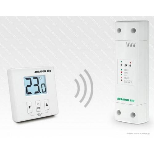 Auraton 200 RTH bezprzewodowy dobowy regulator temperatury