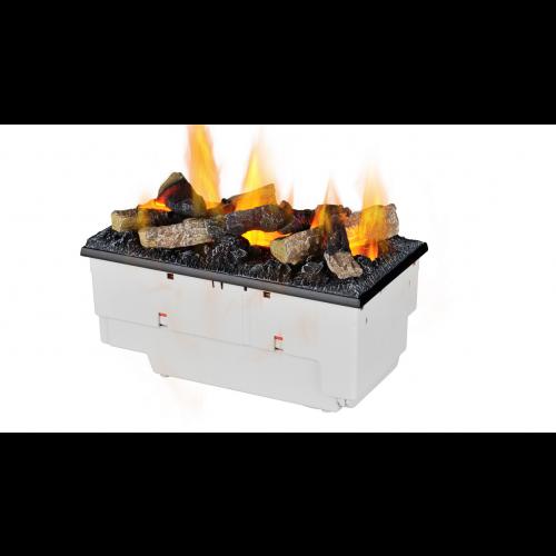 Kaseta 400/600 LED z polanami 400 - elektryczny kominek wkład do zabudowy optimyst Dimplex+ brzęczek