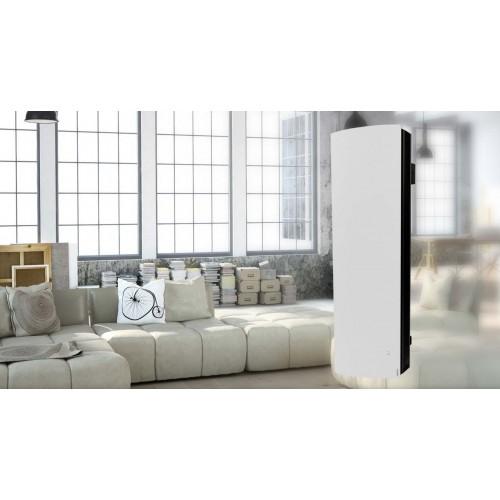 Divali 1500 Vertical biały grzejnik pionowy  Atlantic o mocy 1,5kW WiFi