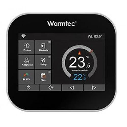 ITS -elektroniczny programowalny regulator temperatury Warmtec Wi-Fi czarny