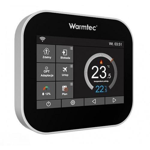 ITSi  - programowalny regulator temperatury Warmtec Wi-Fi (beznapięciowy) czarny