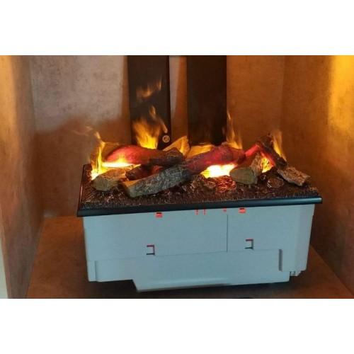 Kaseta 400/600 LED z polanami 600 - elektryczny kominek wkład do zabudowy optimyst Dimplex+ brzęczek