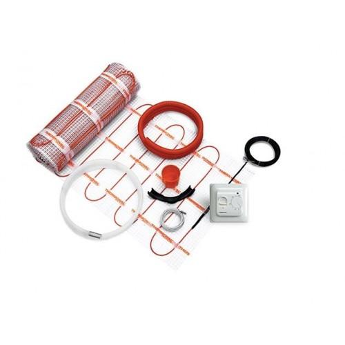 Mata grzewcza 170W / 2,0m² Kompletny zestaw z regulatorem manualnym i matą jednostronnie zasilaną Thermoval