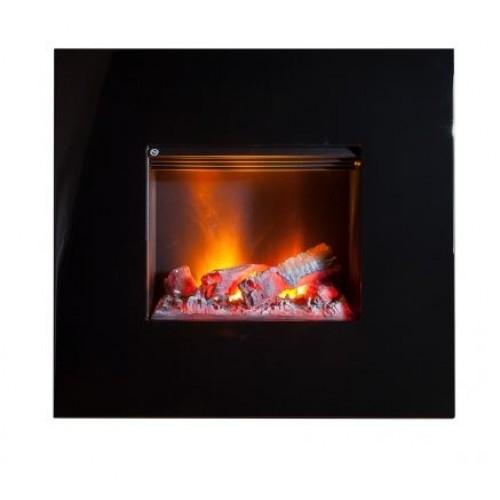 Nissum czarny    elektryczny kominek 3D do montażu ściennego  Dimplex+brzeczęk+upominek gratis!!!