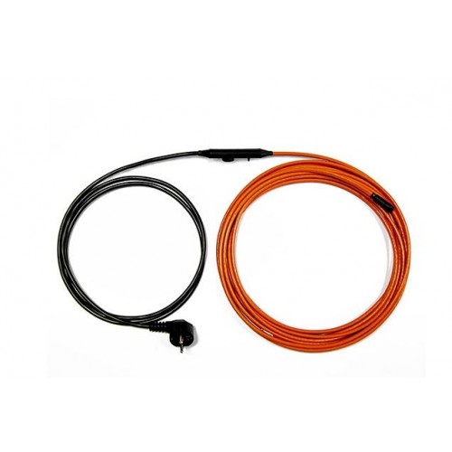 Zestaw grzejny 10m 15W/m do ochrony rur TV Thermo Switch Thermoval