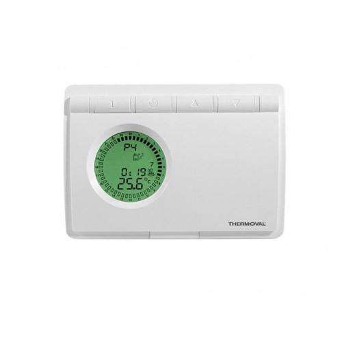 TVT 08P -regulator temperatury nadtynkowy z czujnikiem powietrznym lub podłogowym Thermoval
