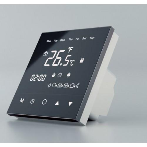 TVT30 BS  regulator temperatury dotykowy z czujnikiem powietrznym i podłogowym Thermoval