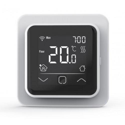 TVT 40 CB WiFi  biały  -regulator temperatury z czujnikiem powietrznym lub podłogowym Thermoval
