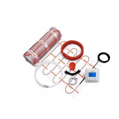 Mata grzewcza 2 m²  z regulatorem elektronicznym  Thermoval kompletny zestaw